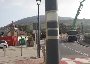 mantenimiento de sendero en Bizkaia Zierbena